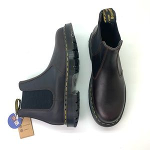Dr. Martens Snowplow Winter-grip boots - Cocoa NWT